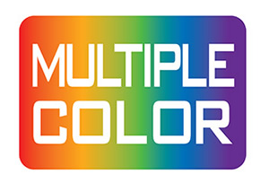 multiple-color
